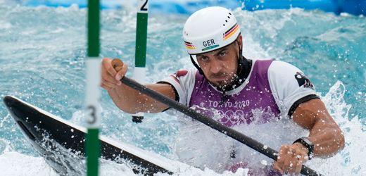 Sideris Tasiadis holt Olympia-Bronze im Kanu: Vom Glück, das Wasser lesen zu können