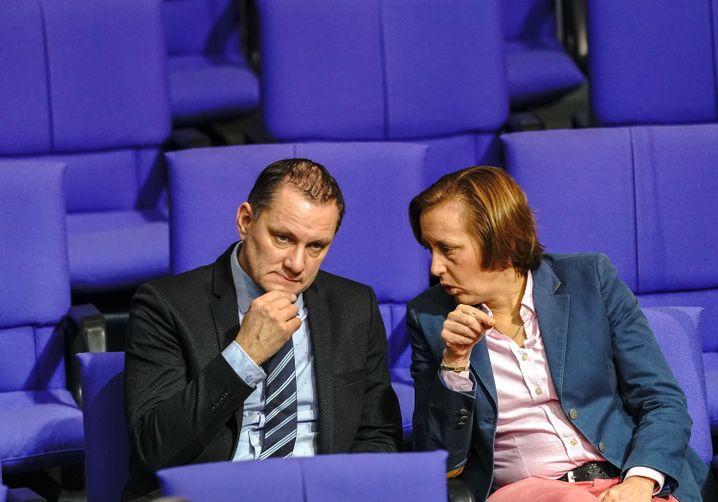AfD-Politiker Tino Chrupalla und Beatrix von Storch