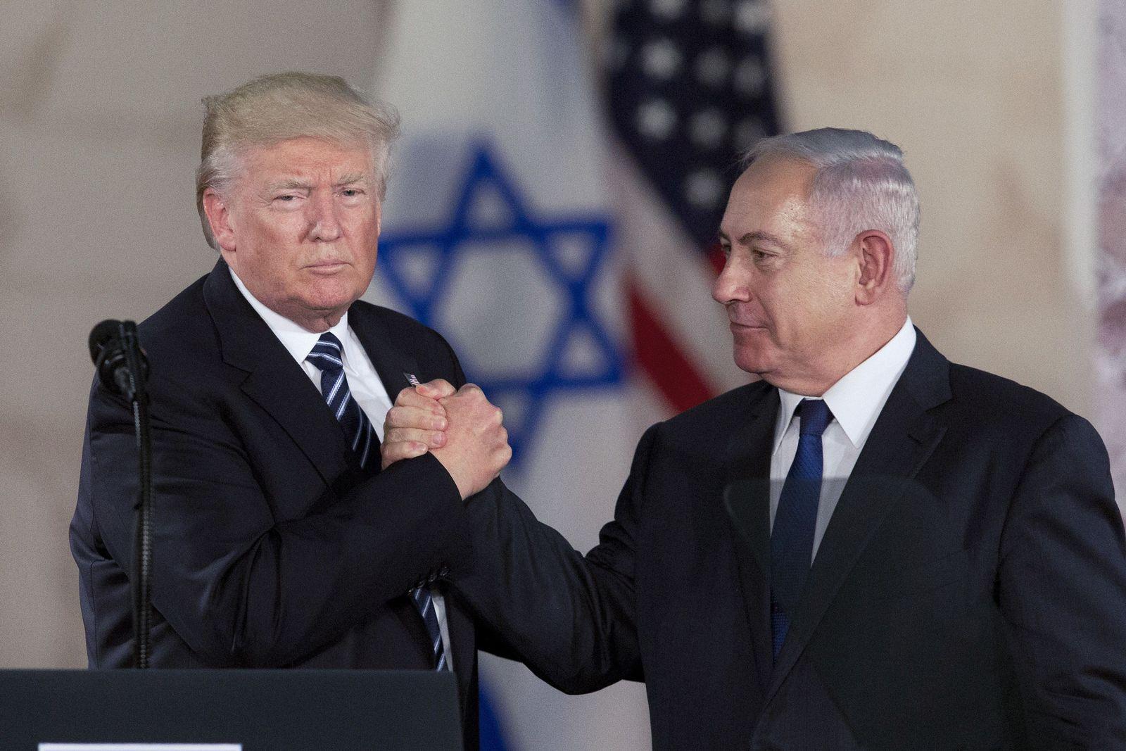 Donald Trump / Reise / Jerusalem