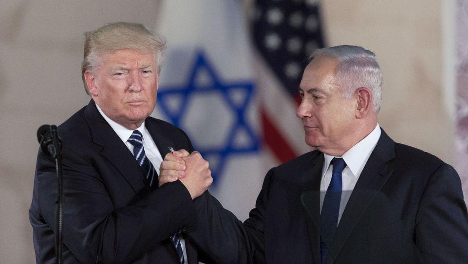 US-Präsident Trump, Israels Ministerpräsident Netanyahu