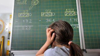 Mathematik: mangelhaft