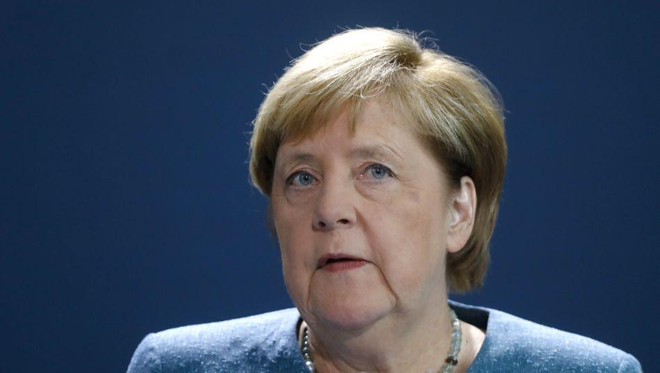 """Für Kanzlerin Merkel hänge vieles """"von den jeweiligen Reaktionen der russischen Regierung ab"""""""