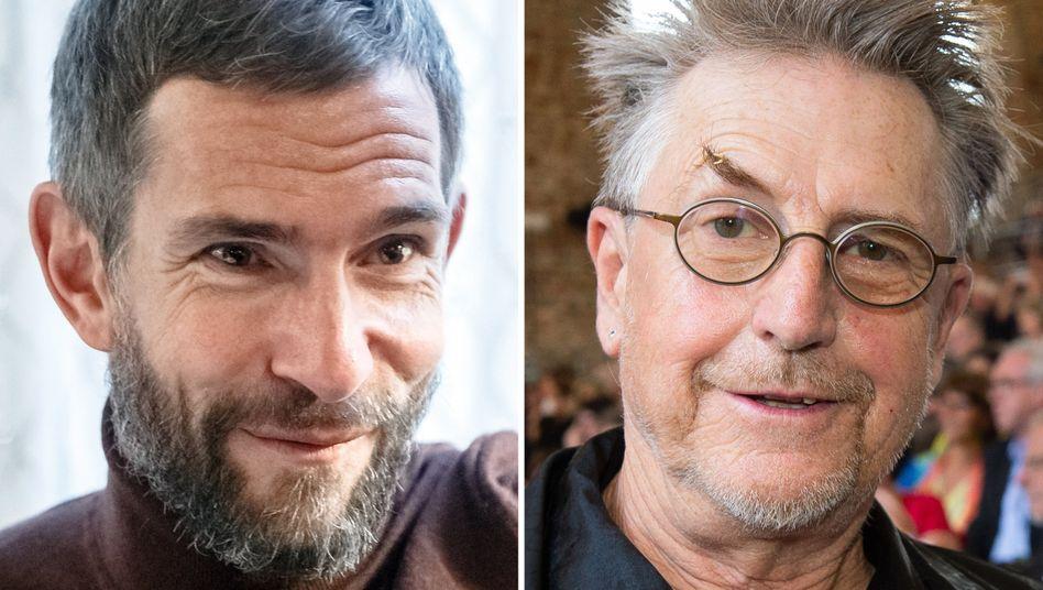 Kontrahenten Micky Beisenherz (l.), Martin Semmelrogge: »Wir haben das alles schon geklärt«