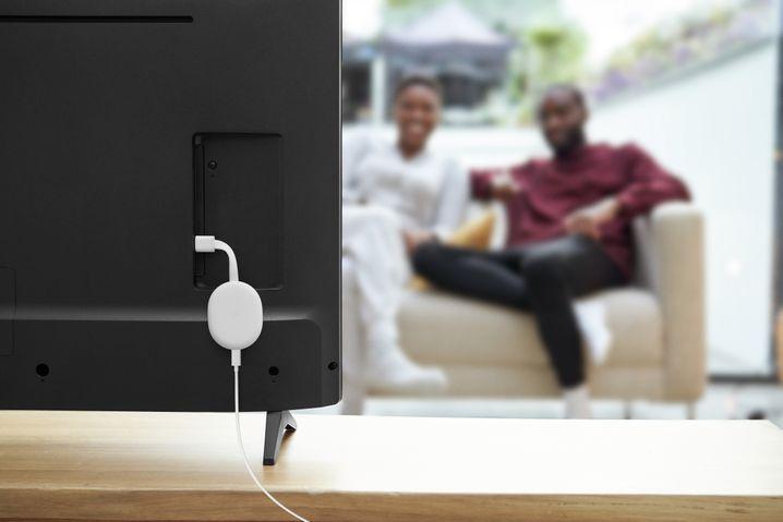 Der neue Chromecast von Google