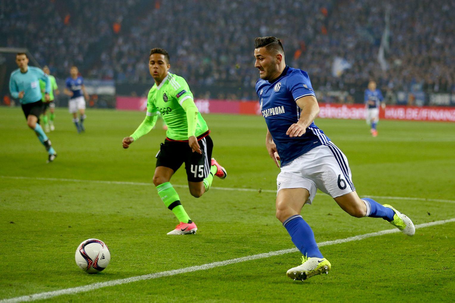 Schalke Ajax Anpfiff