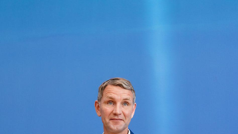 AfD-Politiker Björn Höcke: Sieht sich nicht unbedingt im Bundesvorstand