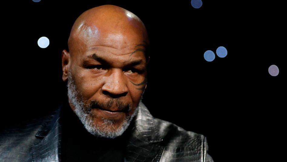 Mike Tyson im Februar dieses Jahres