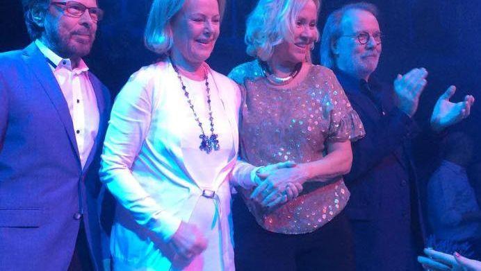 Legendäre Popband aus Schweden: ABBA ist wieder vereint - für einen Abend