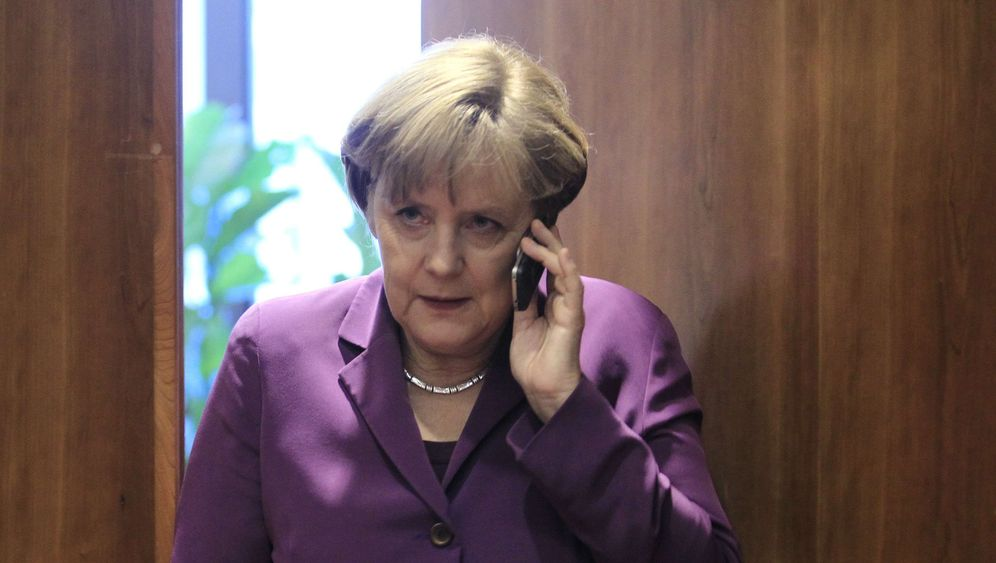 Photo Gallery: Spying on Merkel?