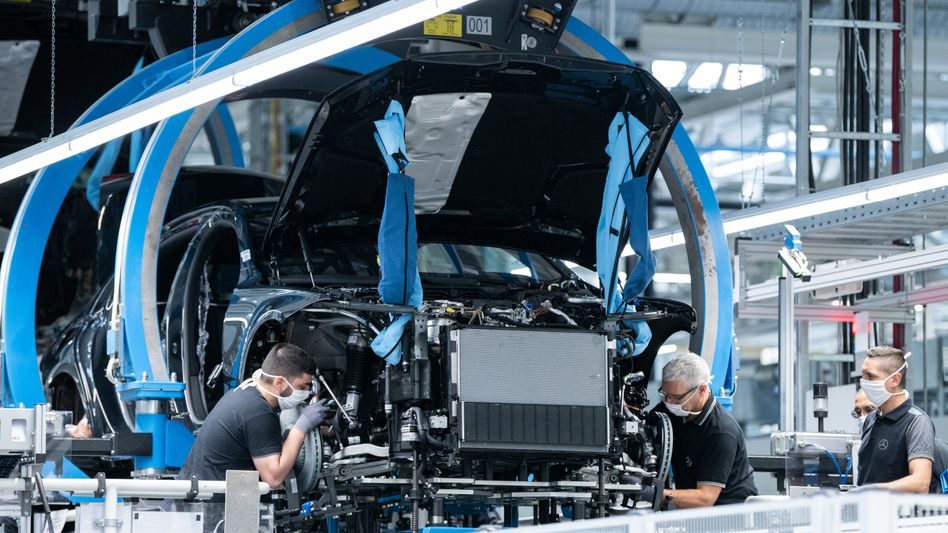 Daimler-Werk in Sindelfingen