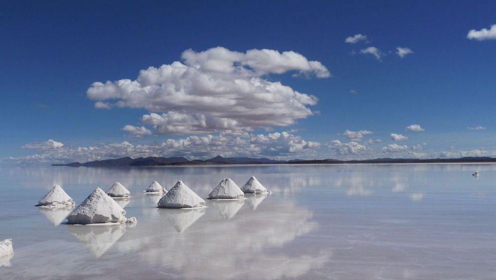 Salzseen in Südamerika: Fundort des seltenen Lithiums