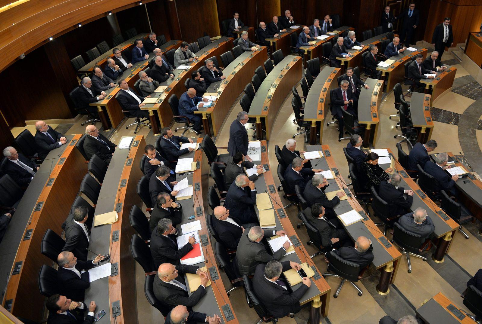 Libanon/Parlament