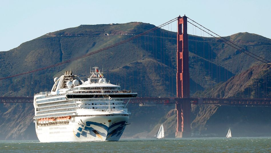 "Corona-Verdacht an Bord der ""Grand Princess"""