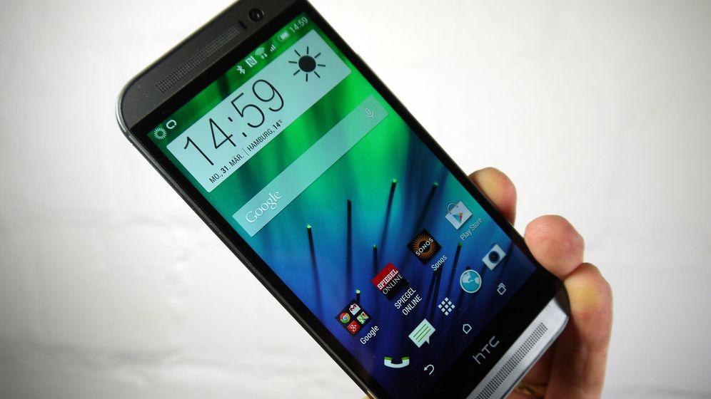 Viel Aluminium und viel Leistung: Das HTC One (M8) im Test