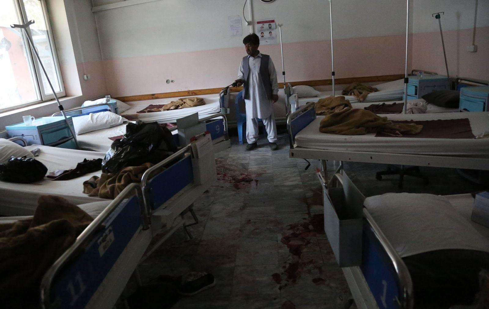 Angriff auf Krankenhaus in Kabul