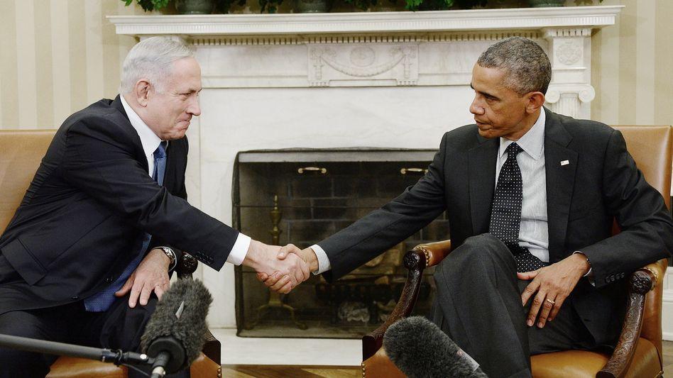 Verhältnis Netanyahu-Obama: Du mich auch