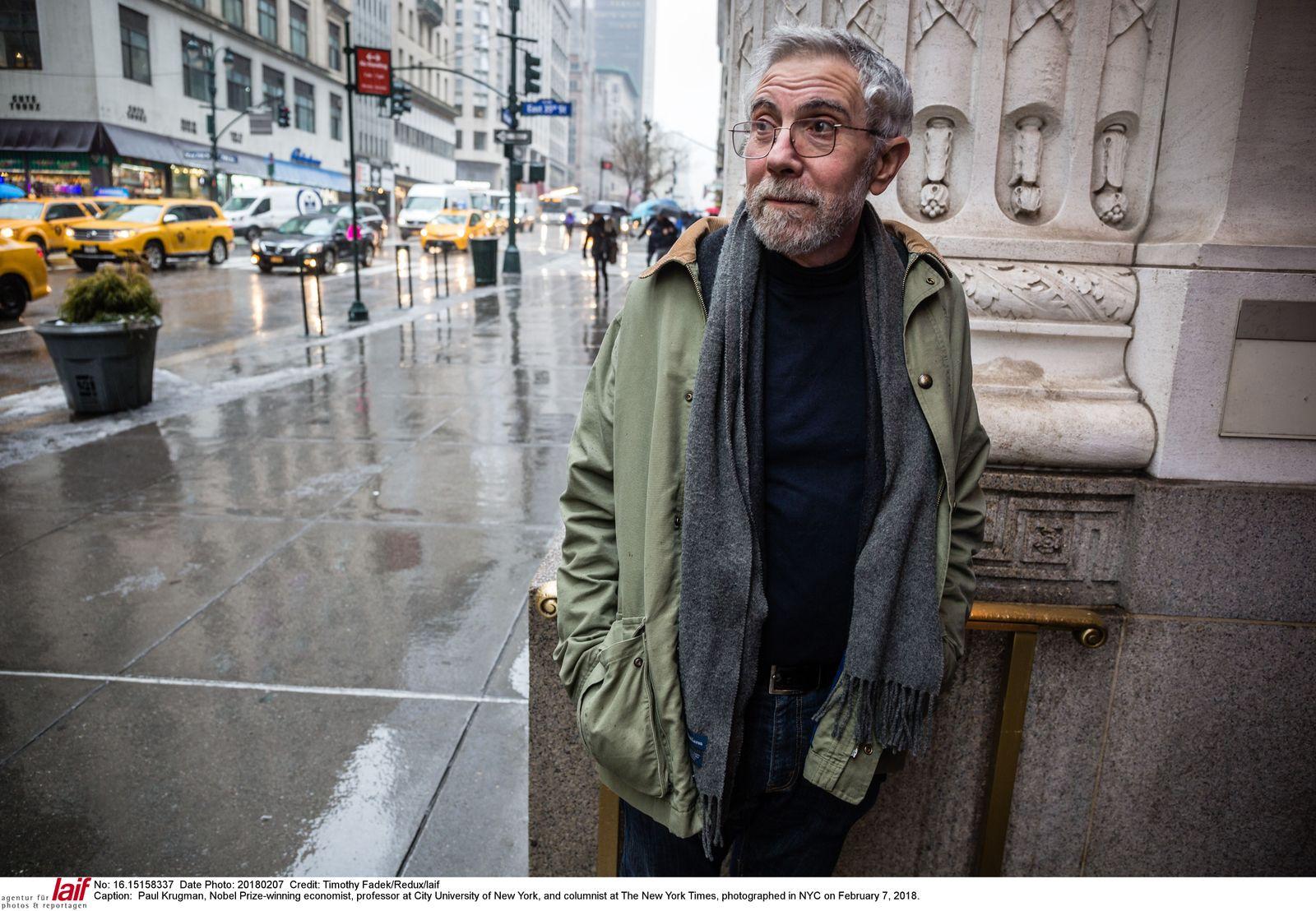 EINMALIGE VERWENDUNG PLUS Paul Krugman über eine drohende Weltwirtschaftskrise