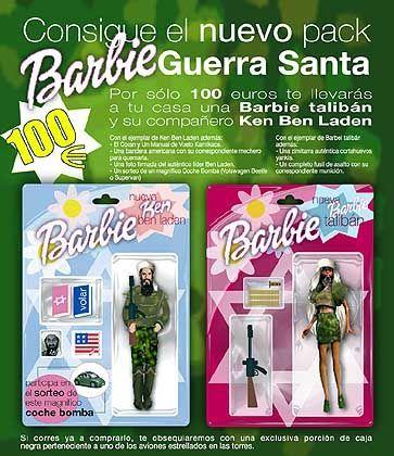 Barbie Taliban: Heutige Büro-Kettenmails kommen als professionell aufbereitete Gags daher