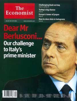 """Lieber Herr Berlusconi..."": Das aktuelle Cover des ""Economist"""