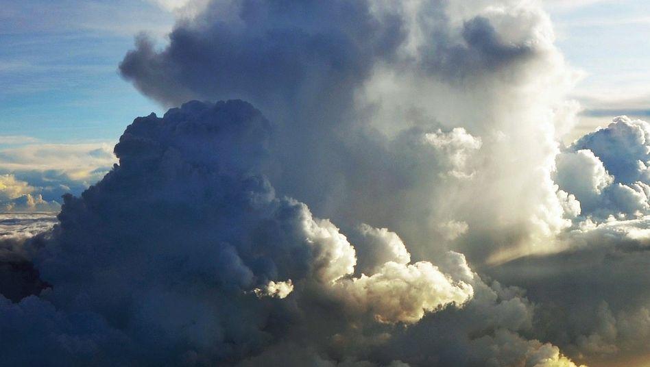 Kumulonimbus-Wolken