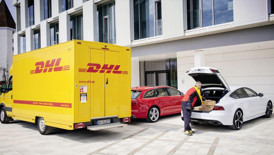 Paketbox im Kofferraum: Amazon testet die Zustellung auf Parkplätze