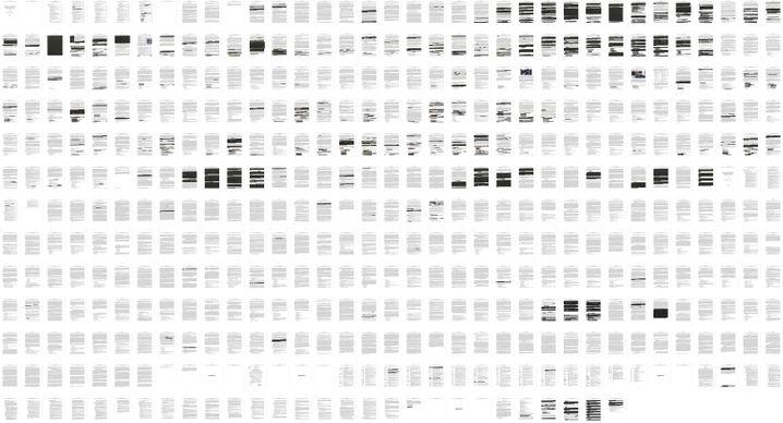 448 Seiten umfasst der Mueller-Bericht - wie viel geschwärzt wurde, zeigt dieser Überblick
