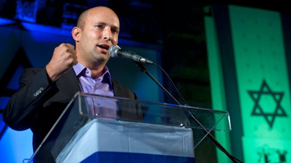 Selbstbewusster Naftali Bennett: Der Jungpolitiker setzt Netanjahu unter Druck