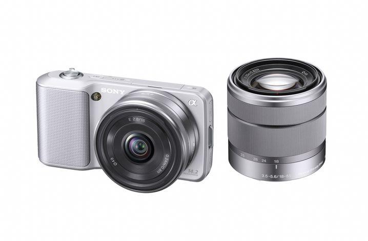 Sony Alpha NEX-3: Handlich wie eine Kompaktknipse, flexibel wie Spiegelreflex