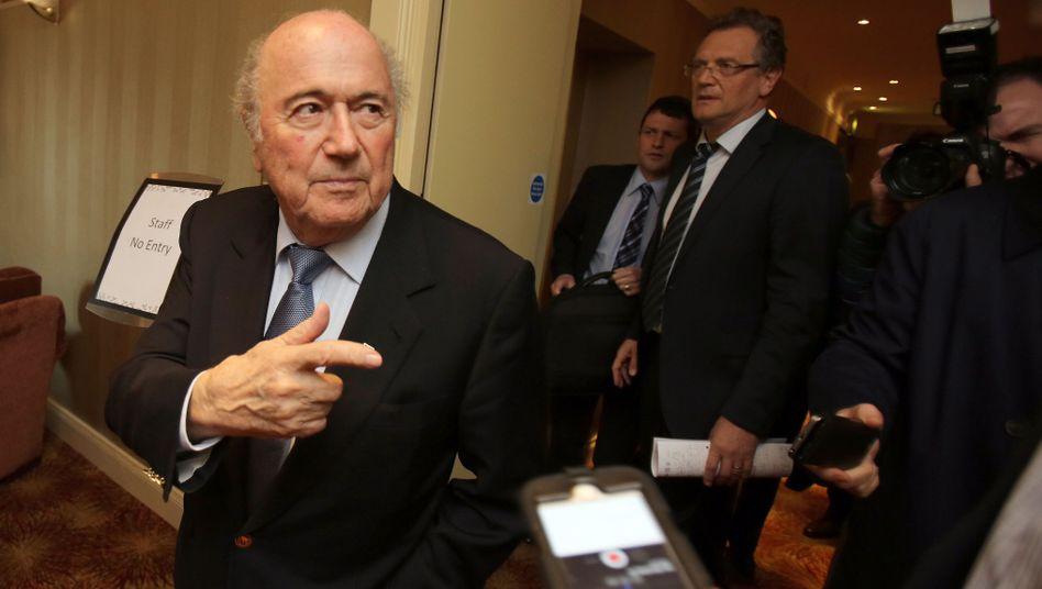 Joseph Blatter: Eingeladen ins Wembleystadion