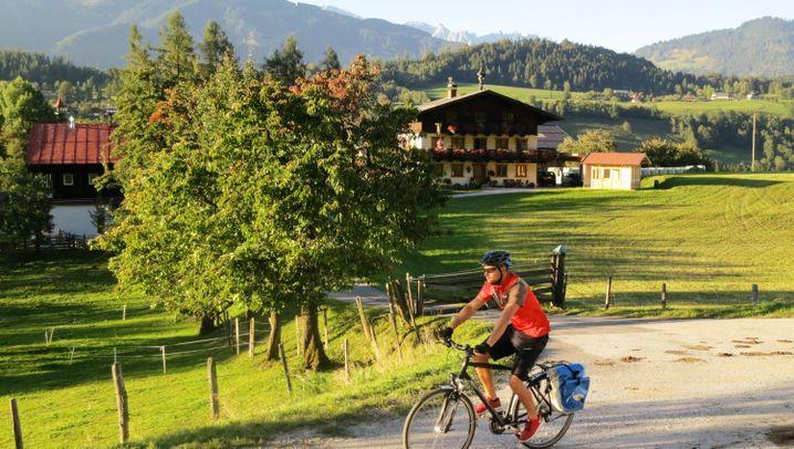 Transalp-Tourenroute: Der Alpe-Adria-Radweg