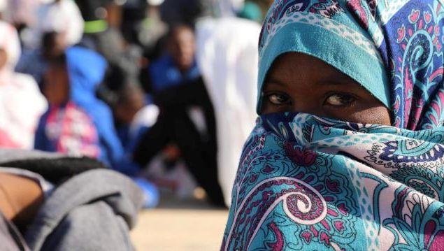 Flüchtlinge in Libyens Hauptstadt Tripolis
