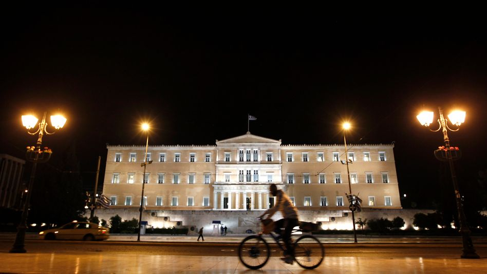 Greek finances are once again causing headaches in Europe. Here, the parliament building in Athens.