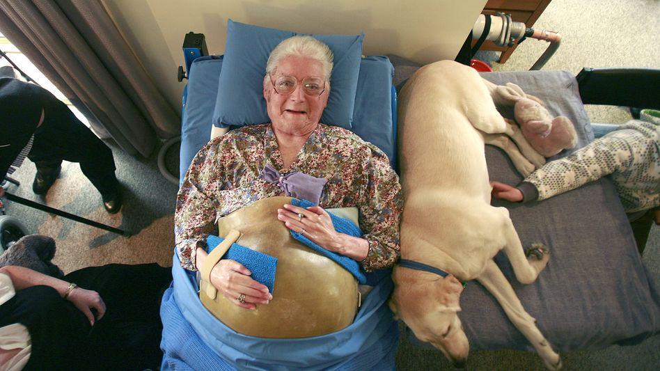 Rekordpatientin Middleton: Mehr als 60 Jahre im Beatmungsgerät