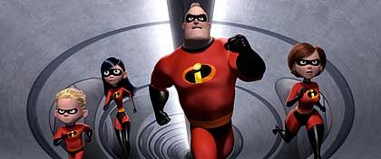 """Pixar-Animationsspektakel """"The Incredibles"""": Auf dem Weg zur ästhetischen und kommerzielle Vormachtstellung"""