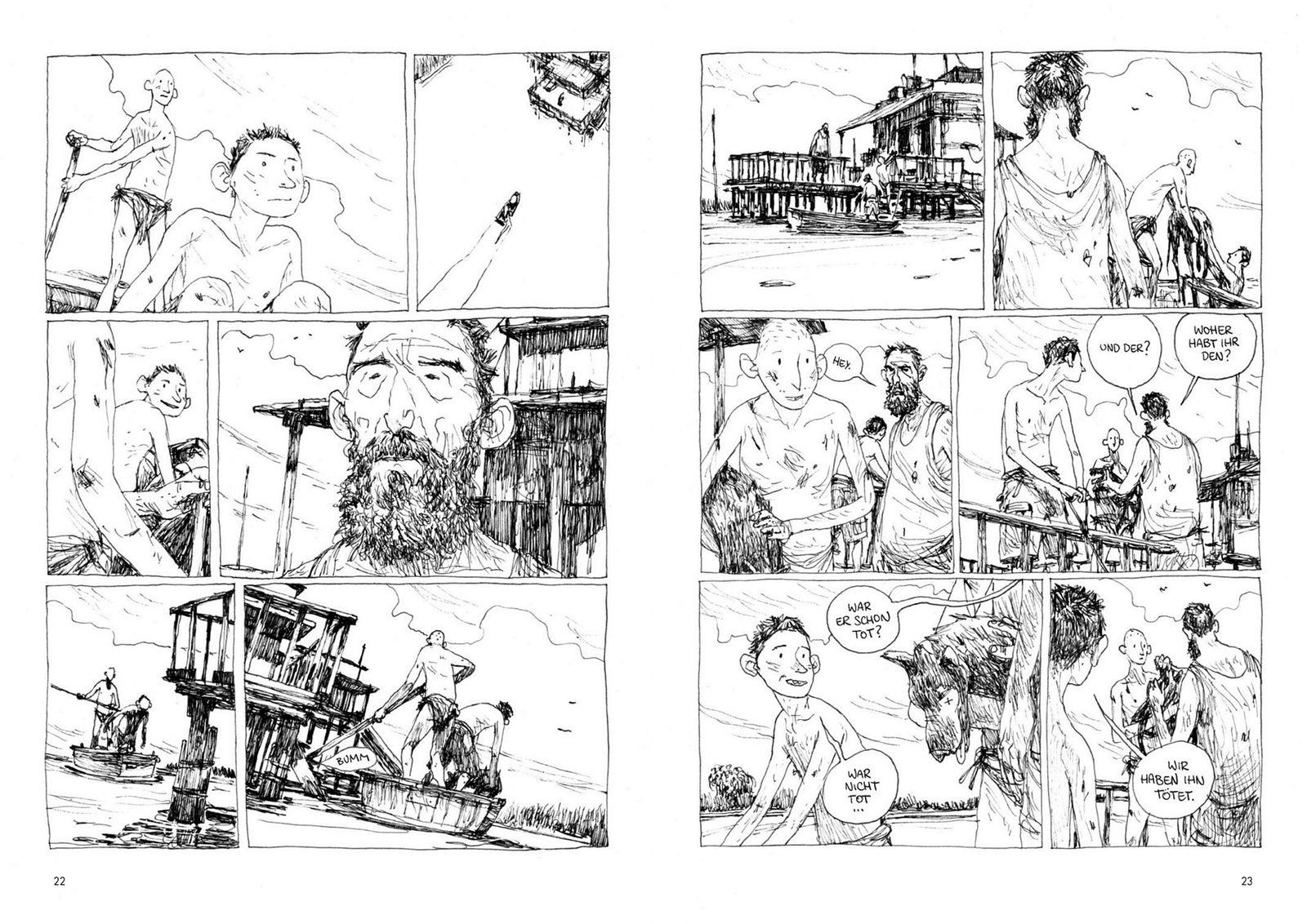 EINMALIGE VERWENDUNG Comictipps/ Gipi: Die Welt der Söhne COVER