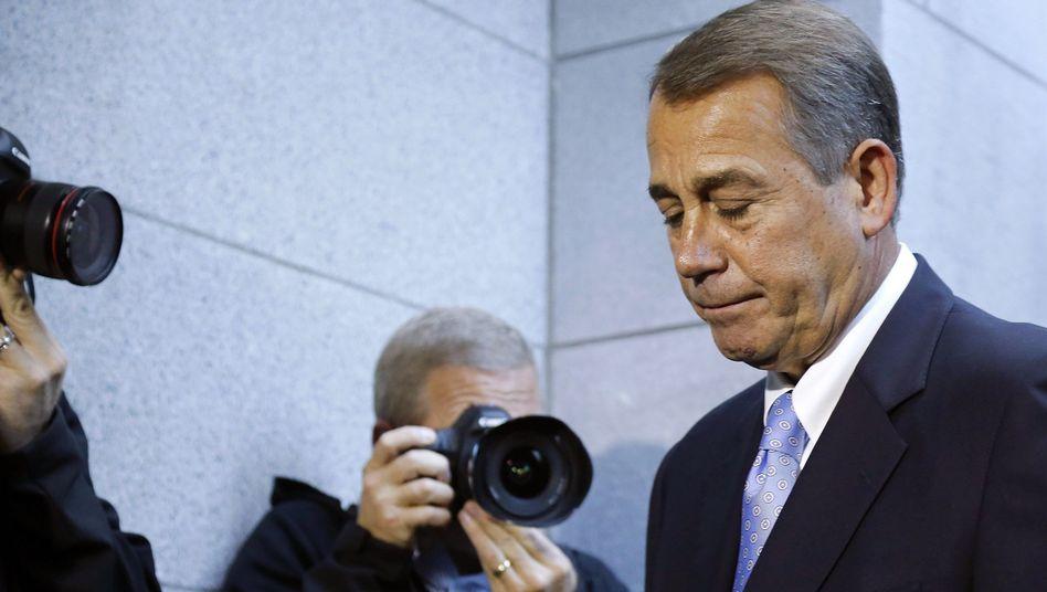 """Republikaner Boehner: """"Wir haben einfach nicht gewonnen"""""""