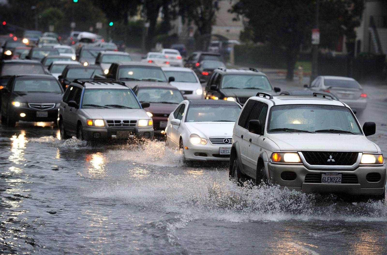 regen kalifornien