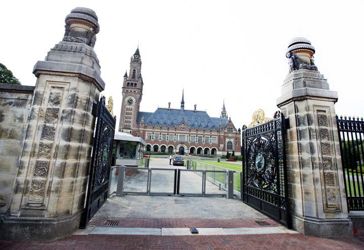 Sitz des Schiedshofes im Friedenspalais von Den Haag