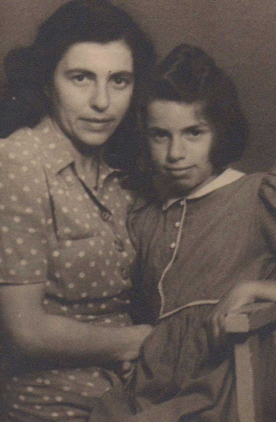 Margarete Oestreicher und ihre Tochter Marione