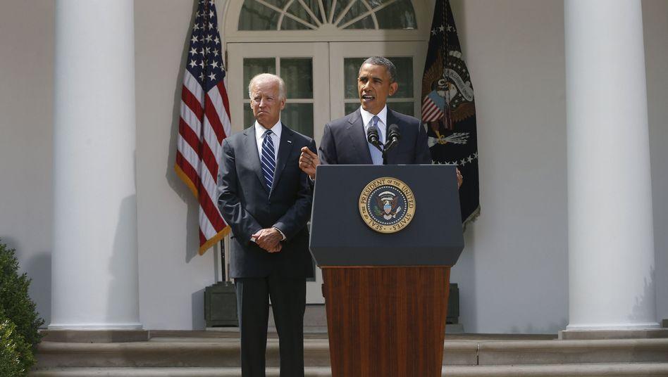ObamasSyrien-Linie: Der Präsidenten-Darsteller
