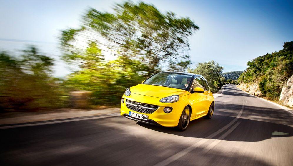 Autogramm Opel Adam: Mode-Mobil