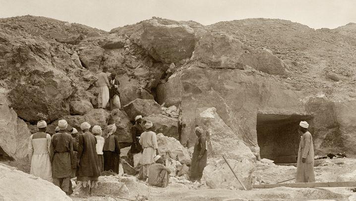 Archäologie-Rätsel: Kopf ohne Körper