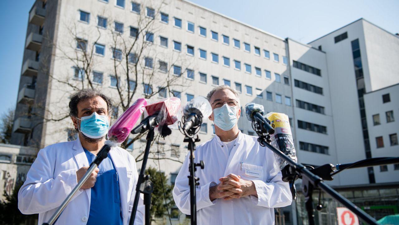 """Helios-Klinikum München West wegen Coronavirus geschlossen: """"Wir haben die Türen dicht gemacht"""" - DER SPIEGEL - Wirtschaft"""
