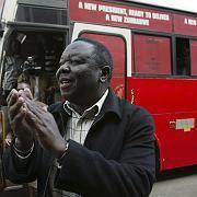 """Oppositionsführer Tsvangirai: """"Wir machen weiter"""""""