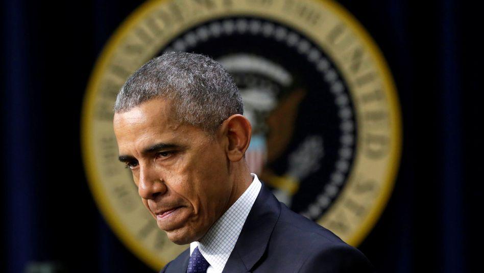 Barack Obama (Archivbild)
