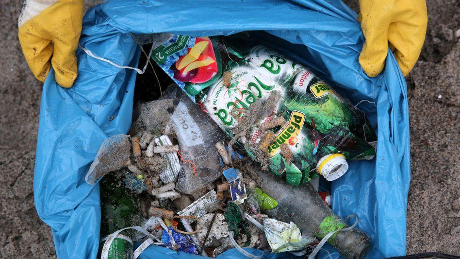 Gesammelter Müll (Symbolbild)