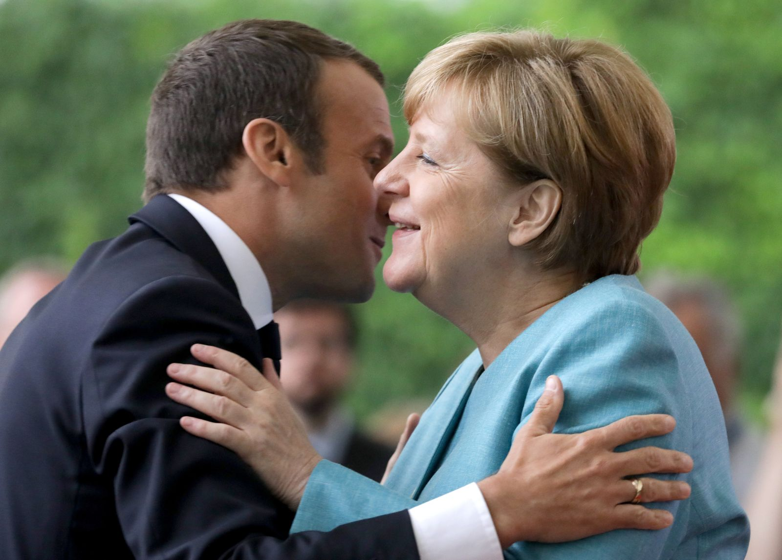 Merkel / Macron
