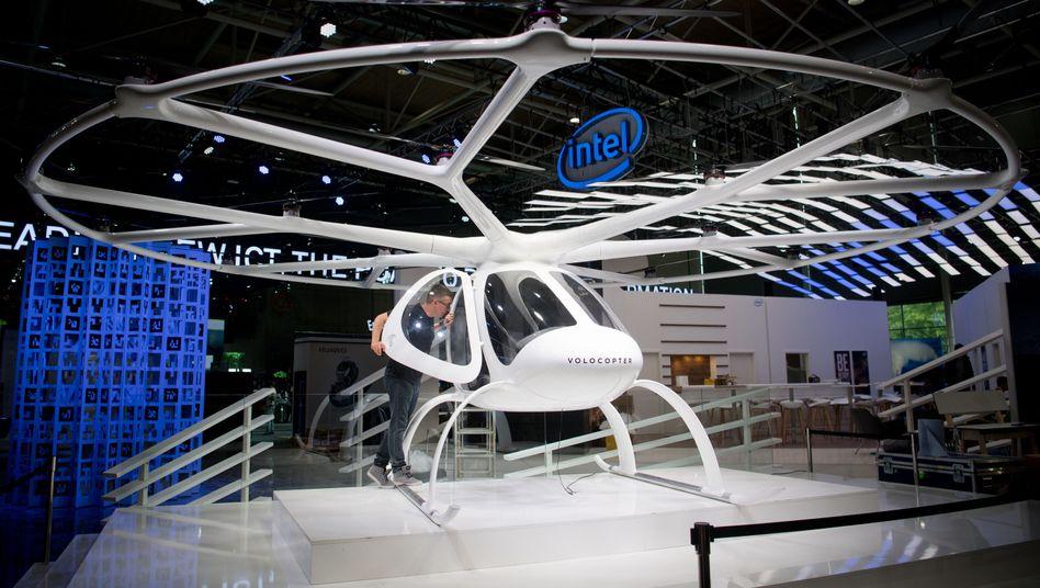 Passagier-Drohne Volocopter 2x