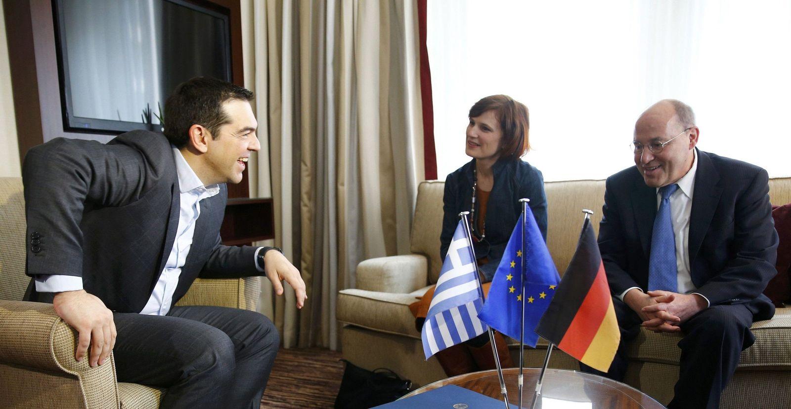 Alexis Tsipras/ Berlin