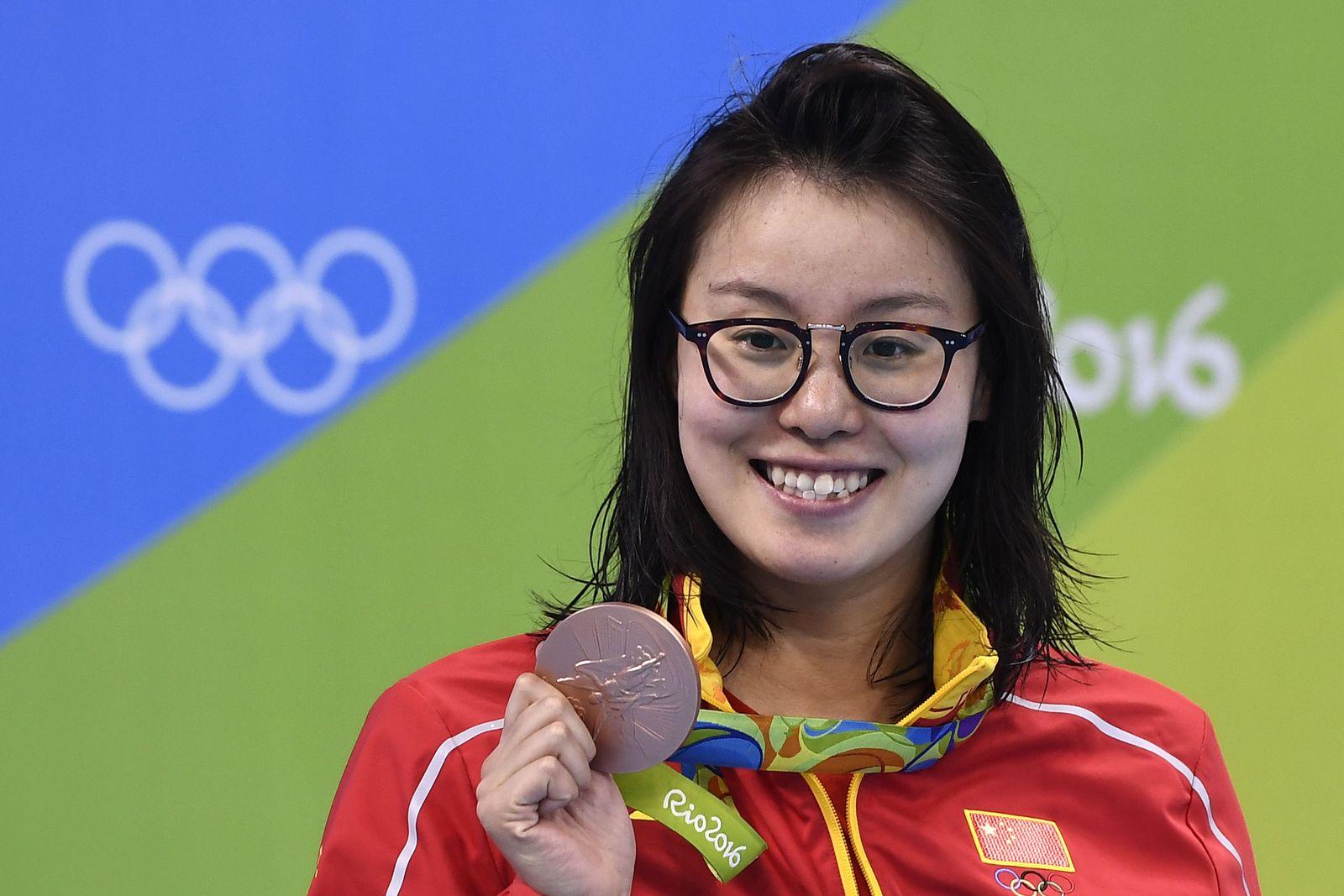 Fu Yuanhui/ Schwimmerin/ Olympia 2016
